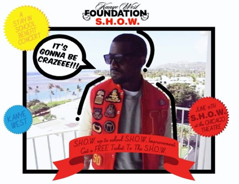 Promo for the Kanye West Foundation