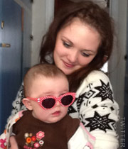 Katie Yeager and daughter Molli from 16 and Pregnant Season 4