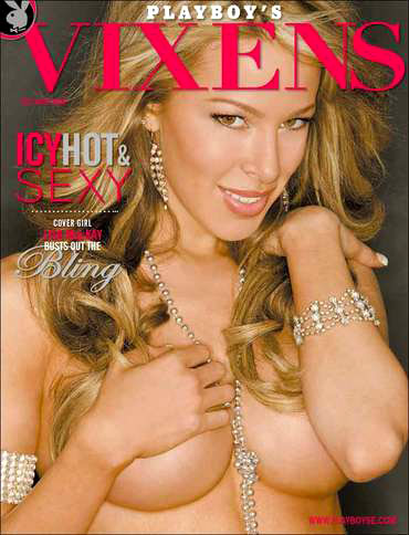 Lisa Mackay Hochstein on the cover of Playboy Vixens 2006