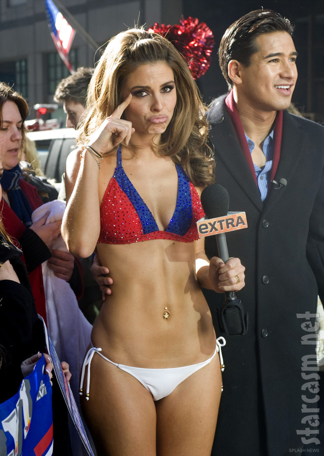 Maria Menounos bikini. For all the broken-hearted New England Patriots fans ...