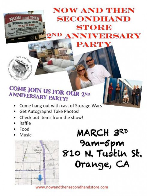 Brandi Passante and Jarrod Schulz are throwing a 2nd anniversary party for their store
