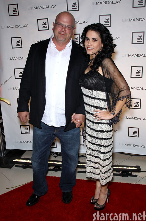 rick harrison star of pawn stars is ready to walk down the aisle with