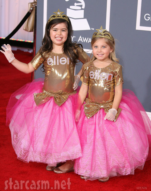 Sophia Grace Brownlee and Rosie