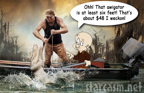 Swamp People Elmer Fudd alligator prices