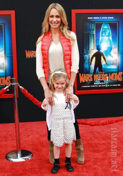 RHOBH Taylor Armstrong with daughter Kennedy