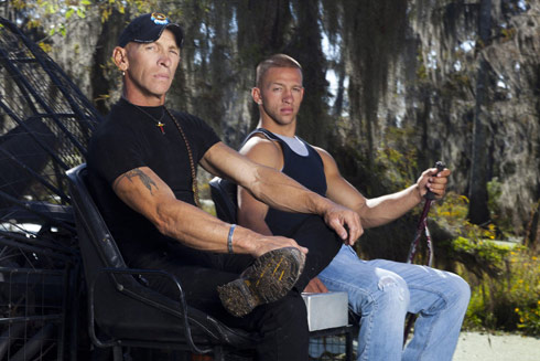 RJ and Jay Paul Molinere from Swamp People