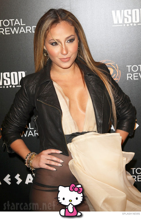 Click for the unedited Adrienne Bailon wardrobe malfunction photo