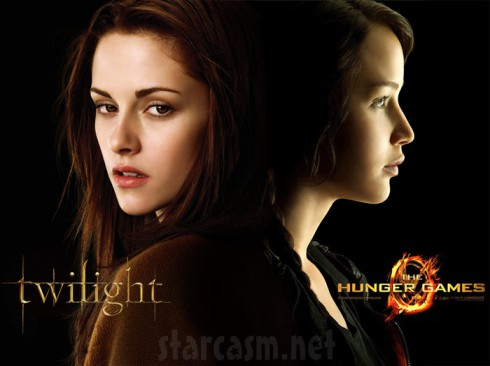 Twilight Hunger Games feud Kristen Stewart and Jennifer Lawrence