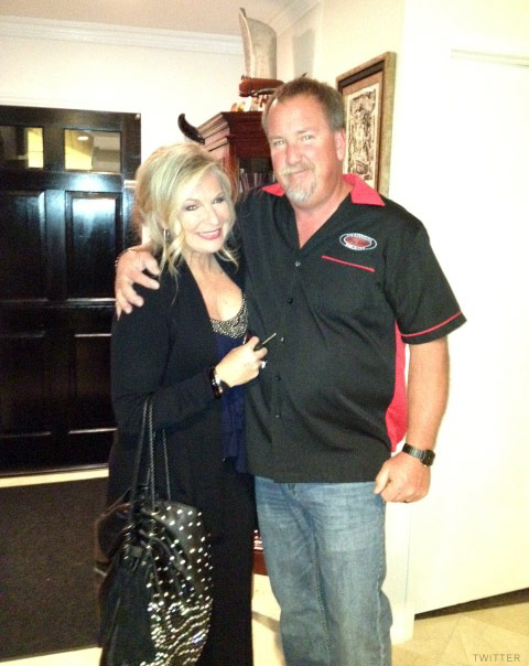 Darrell Sheets and fiancee Kimber