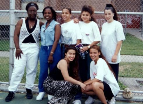 Mob Wives Drita D'Avanzo high school photo with her handball team