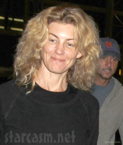 Faith Hill no make up photo