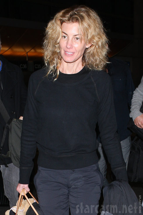 Photo of Faith Hill with no makeup