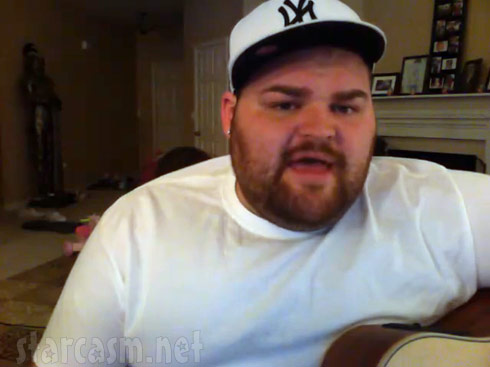 Teen Mom's Gary Shirley singing and playing guitar