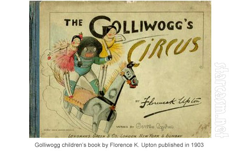 The Golliwogg's Circu book by Florence K. Upton from 1903