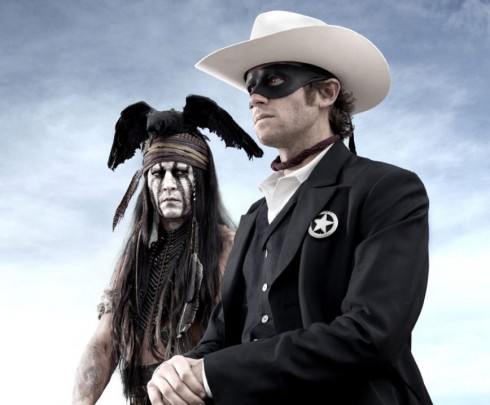 First image of Johnny Depp and Armie Hammer from The Lone Ranger