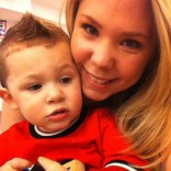 Isaac and Kailyn Lowry in New York City 2012