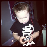 Kailyn Lowry's son Isaac rocking the beat in New York City