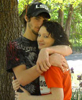 Kristina Robinson and deceased fiance John Todd Hight Jr