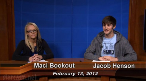 Teen Mom Maci Bookout as news anchor for Today at Chatt State