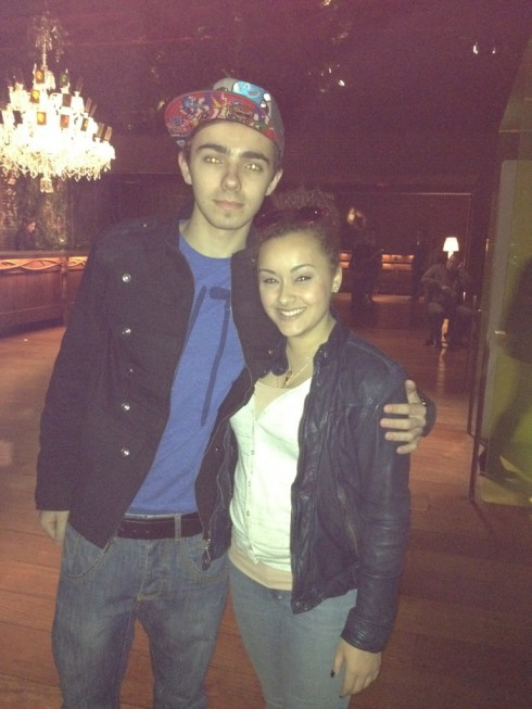 The Wanted's Nathan Sykes and Brittany Dejesus, sister of Briana Dejesus of 16 and Pregnant