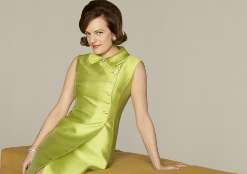 Elisabeth Moss as Peggy Olson official Mad Men Season 5 photo