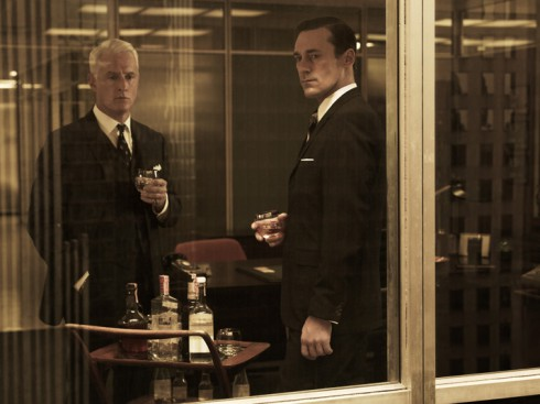 Roger Sterling and Don Draper Mad Men Season 5