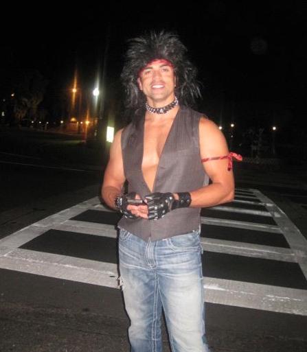 Eddie Judge 80s BUnko party