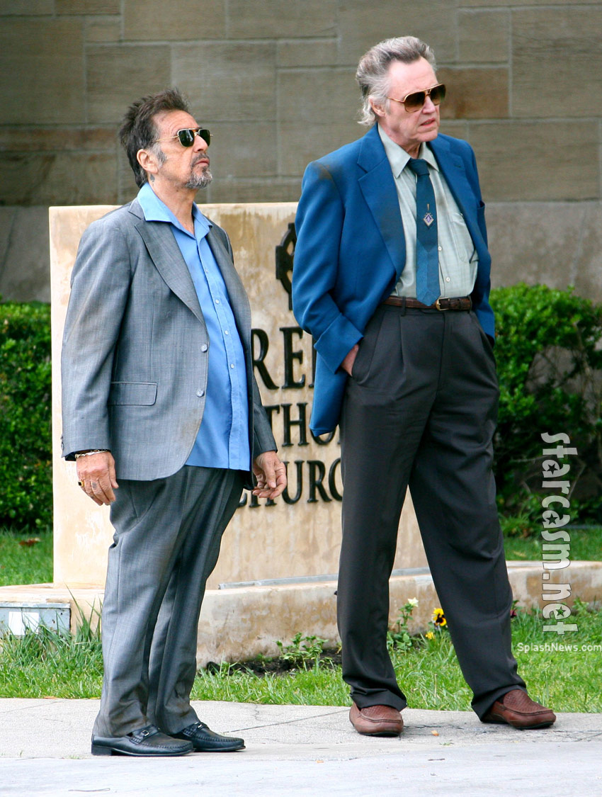 Al Pacino Christopher Walken 'Stand Up Guys'