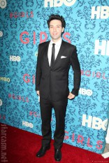 Alex Karpovsky at the HBO Girls Premiere in New York City on April 4 2012