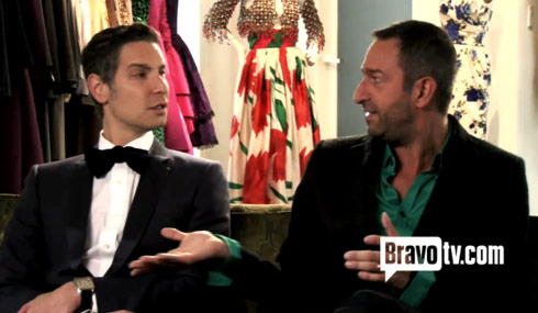 Christos Garkinos and Cameron Silver of the new Bravo reality series Decades
