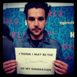 Christopher Abbott at the HBO Girls premiere in New York City April 4 2012
