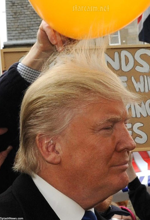 Donald Trump static balloon