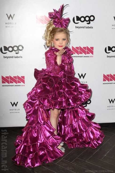 Eden's World star Eden Wood 2012 red carpet photo