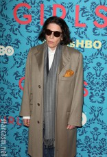 Fran Lebowitz at the HBO Girls Premiere in New York City on April 4 2012