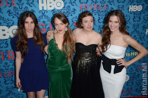Zosia Mamet Jemima Kirke Lena Dunham Allison Williams HBO Girls premiere