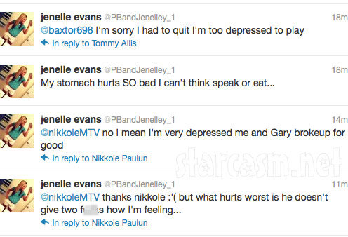Jenelle Evans tweets about break up with boyfriend Gary Head