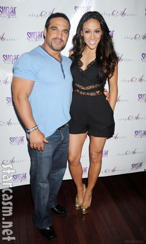 Joe Gorga and Melissa gorga at The Real Housewives of New Jersey Season 4 Premiere party