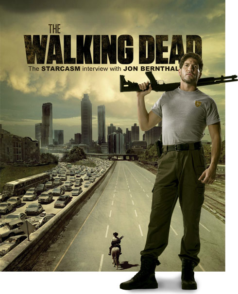 Starcasm interview with The Walking Dead's Jon Bernthal (Shane Walsh)