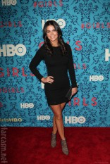 Katie Lee at the HBO Girls Premiere in New York City on April 4 2012