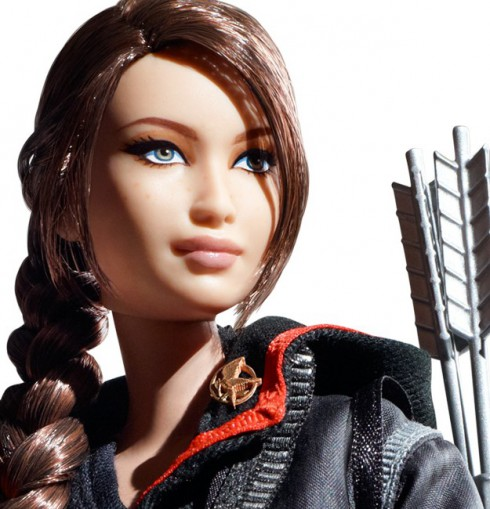 Katniss Everdeen Barbie zoom view