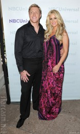 Kim Zolciak and Kroy Biermann together on the red carpet