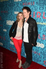 Kyra Sedgwick and Kevin Baconat the HBO Girls Premiere in New York City on April 4 2012