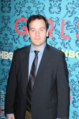 Mike Birbiglia at the HBO Girls Premiere in New York City on April 4 2012