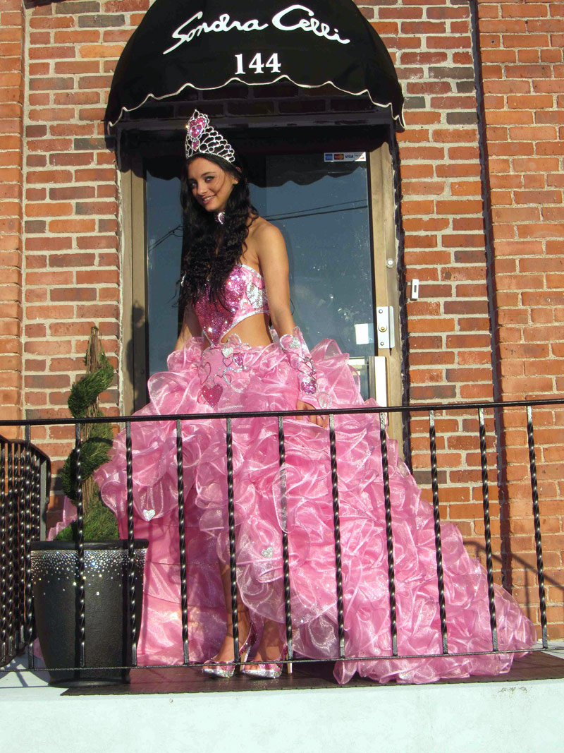 my big fat america gypsy wedding priscilla pink dress