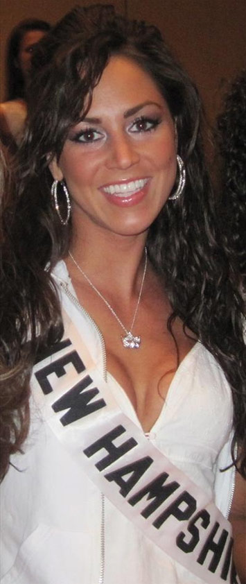Nicole Houde as Miss New Hampshire USA 2010