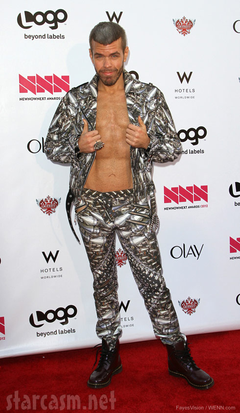 Perez Hilton skinny photo Logo Awards
