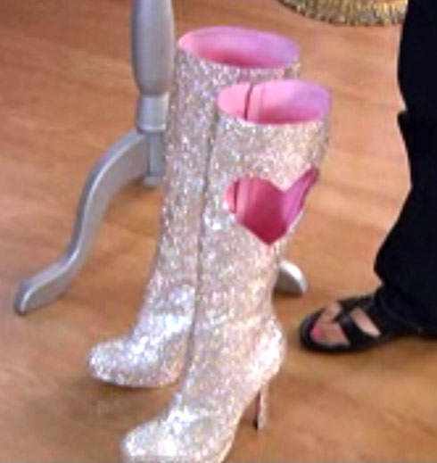 Priscilla's Swarovski Crystal boots from My Big Fat American Gypsy Wedding