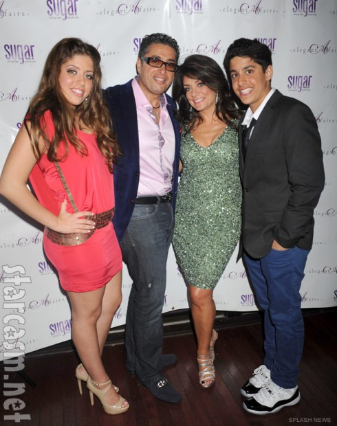 Victoria Wakile Richie Wakile Kathy Wakile and Joseph Wakile at RHONJ Season 4 Premiere party