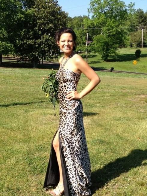 16 and Pregnant Sarah Roberts prom dress