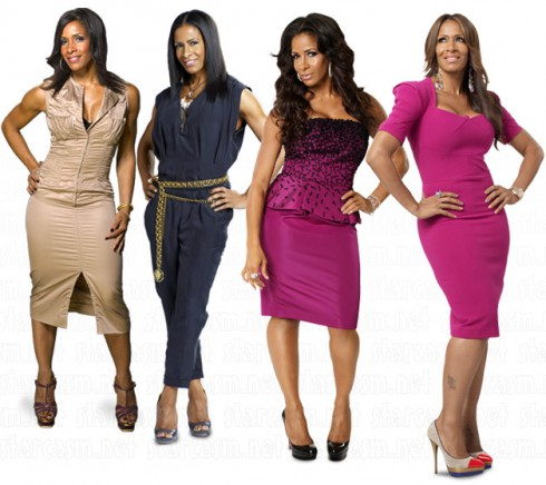 All four Sheree Whitfield official Bravo photos png